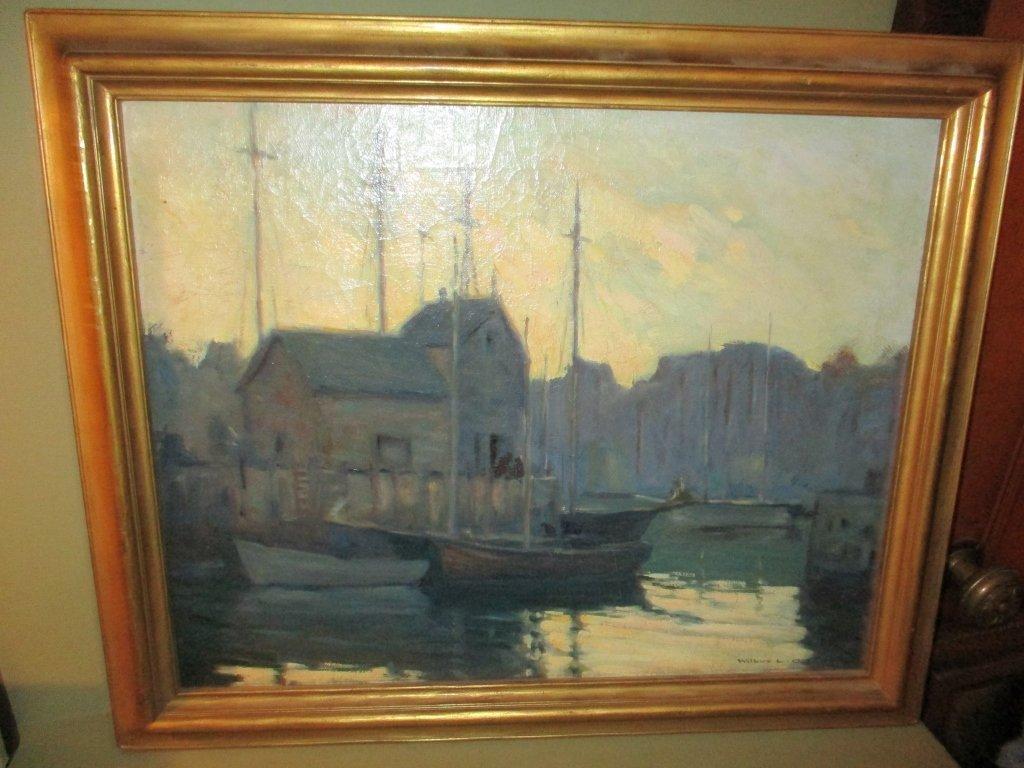 Oil Painting Motif #1 by Wilbur L. Oakes