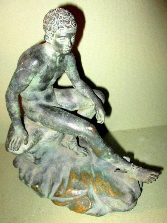 Bronze Sculpture of Mercury