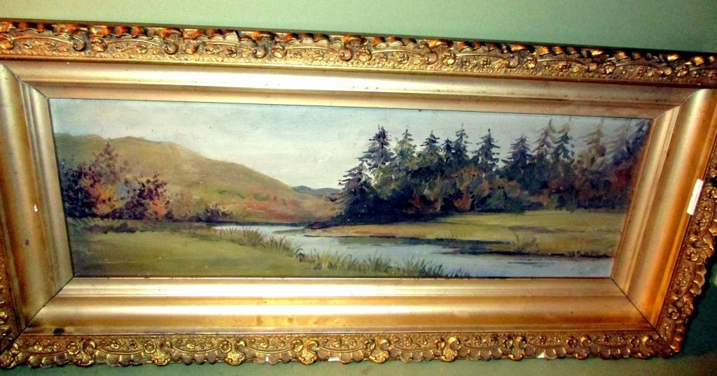 Victorian Painting of Landscape