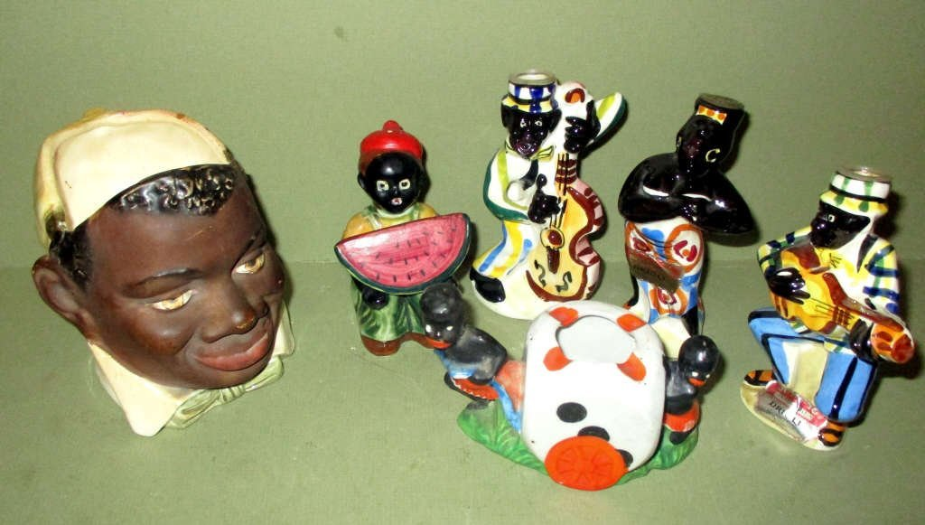 Miscellaneous Lot of Black Collectibles