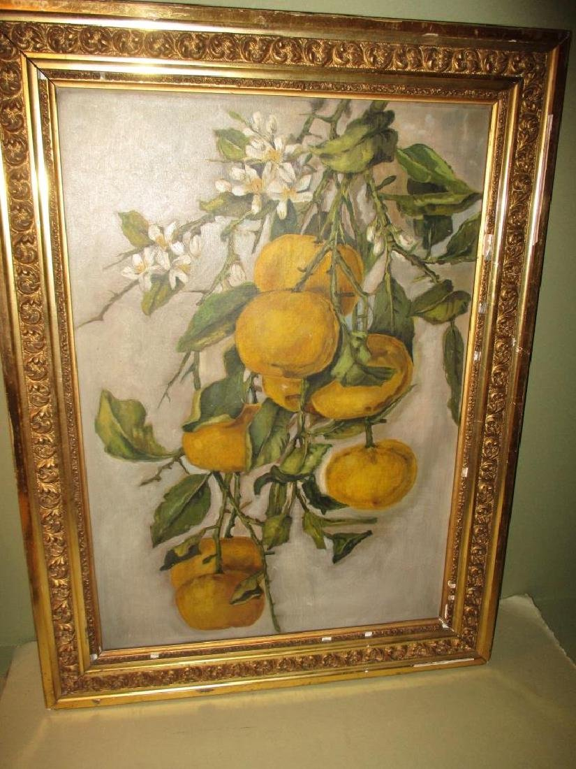 Oil Painting of Grapefruits