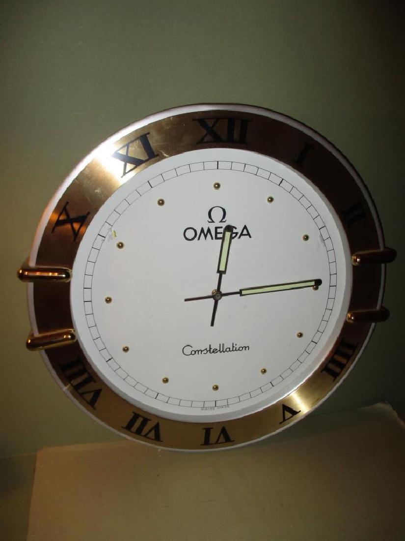 Omega Display Wall Clock