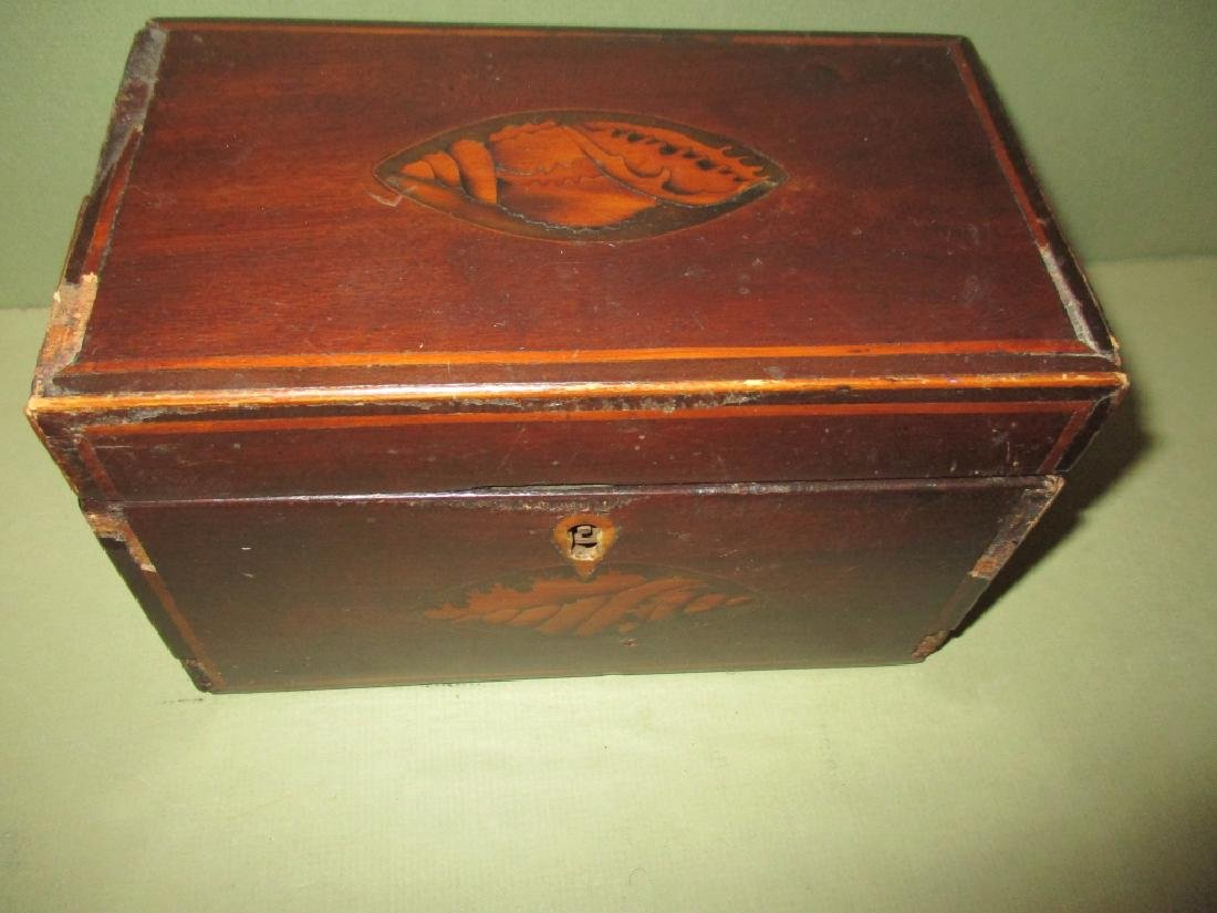 Early Inlaid Tea Box