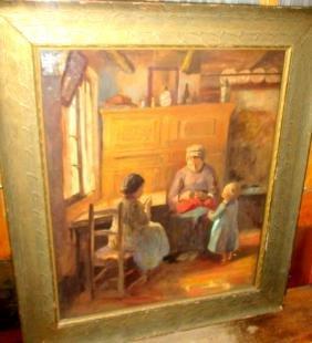 Pastel Copy of Vermeer Painting