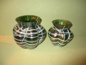 Two Loetz Glass Vases