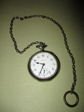 Waltham Silveroid Pocket Watch