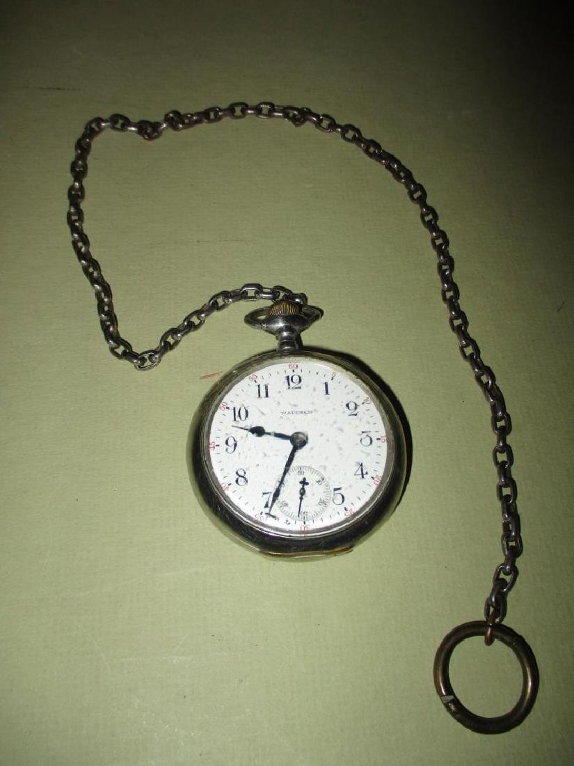 Waltham Silveroid Pocket Watch