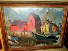Oil Painting on Canvas H Twardzik