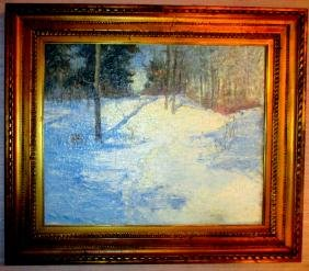 Oil on Canvas signed Haapanen 1926