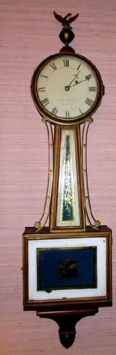Aaron Willard Wall Clock