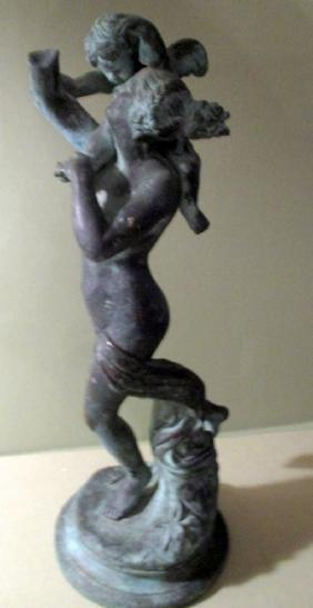 Grand Tour Bronze Sculpture