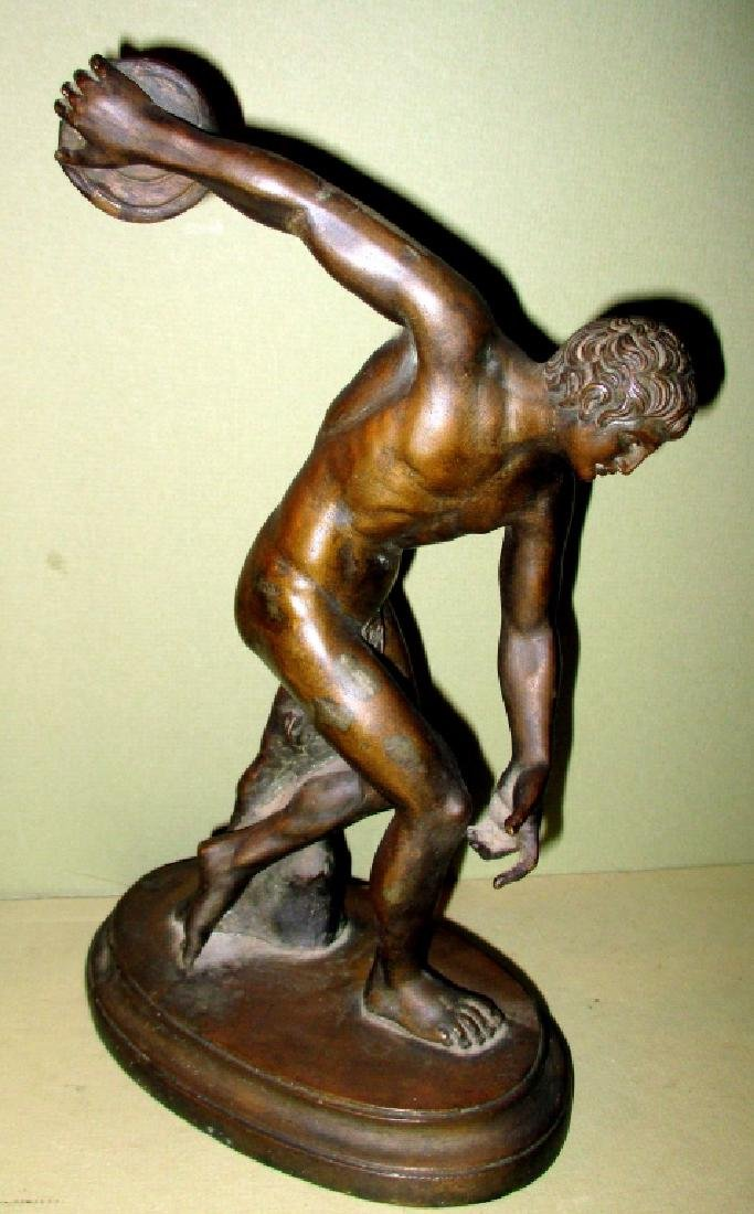 Grand Tour Bronze of Discus Thrower