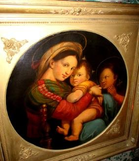 Madonna of the Chair 19th Century