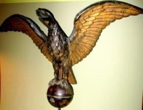 American Eagle Weathervane 19th Century