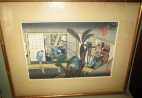 Japanese Block Print Hiroshige Ando