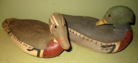 Two Mid-Century Decoys by Randall