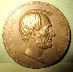 Abraham Lincoln Bronze Presidential Medallion