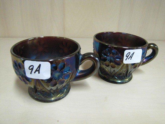 9A: 2 elec purple 474 punch cups