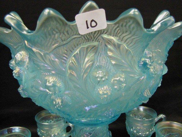 10: VERY RARE Nwood ICE BLUE Acorn Burr 8pc punch set.
