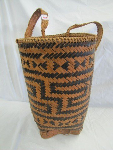 4003: Large Indian back basket