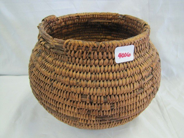 4006: Nice Indian basket 8""