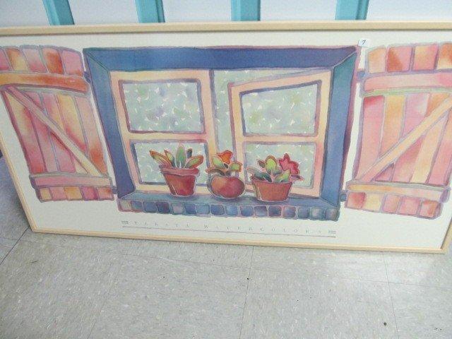 7: 41 x 20 Water color. Takata Watercolors