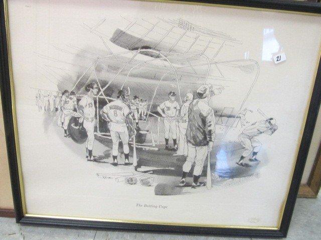 21: The Batting Cage by Oremann  Cincinnati reds probal