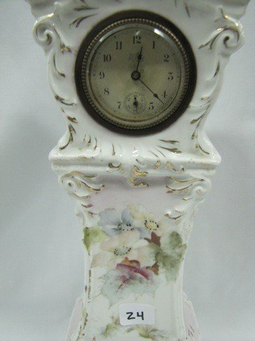 """24: RSP Early Years 15"""" Hand painted clock"""