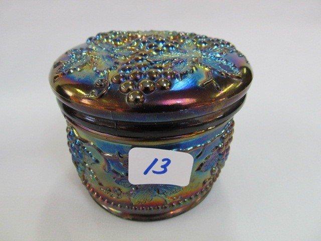 13: Nwood purple G&C powder jar