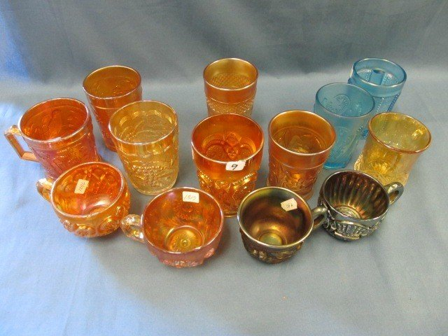 9: box lot 13 pcs Cups/tumblers-see pictures