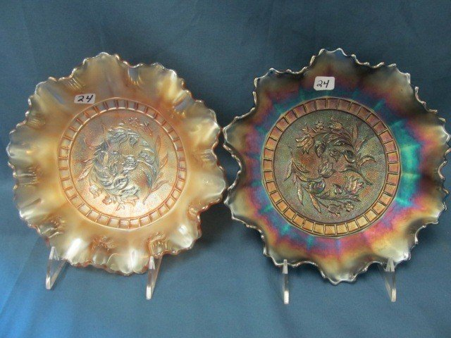 24: blue & Mari. Dugan Windflower bowls-one money
