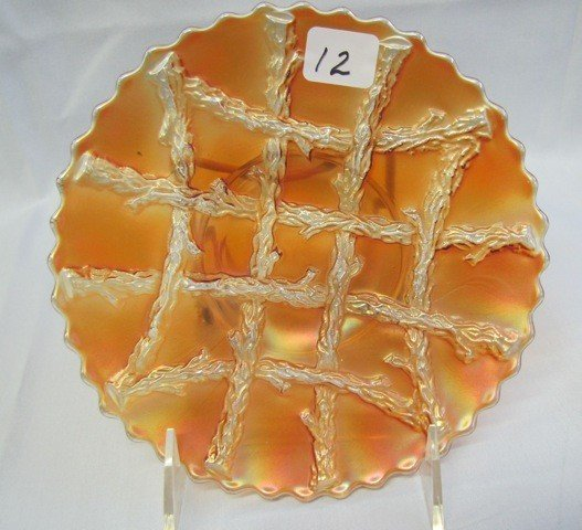 "12: Dugan 7"" mari Grapevine & Lattice plate"