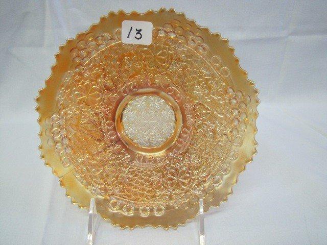 "13: Fenton 7"" mari Leaf Chain plate"