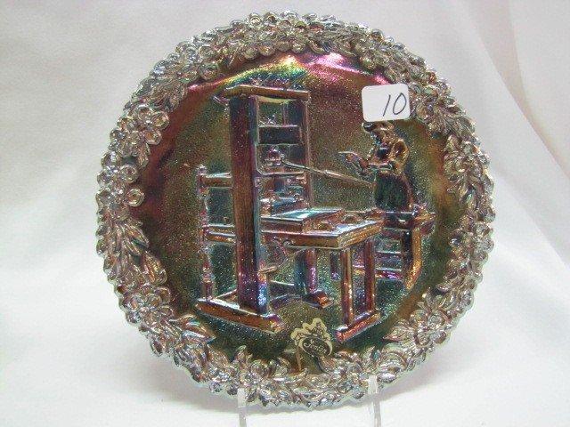 10: Fenton 1971 Craftsman plate