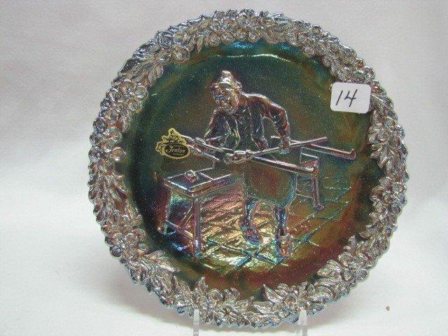 14: Fenton Craftsman plate