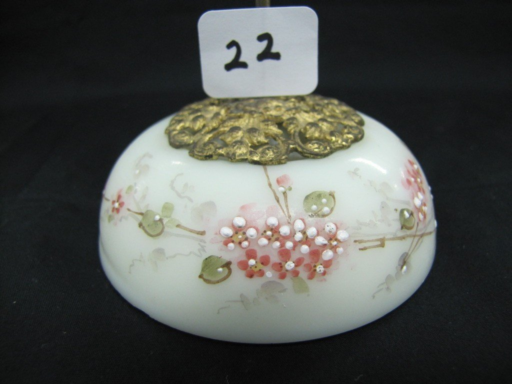 "22: Wavecrest 7"" floral receipt holder"