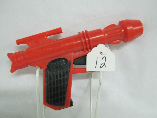 12: Pez ray gun dispenser