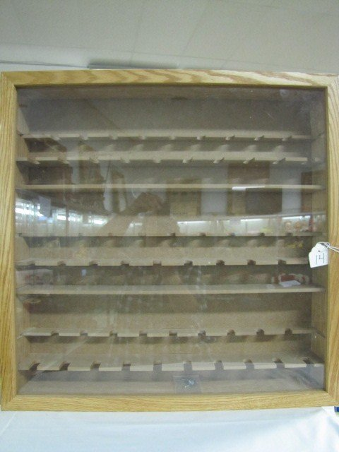 14: Wooden Pez Display Case