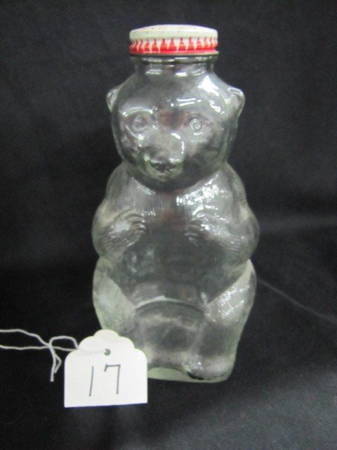17: Snow Crest bank bottle - bear