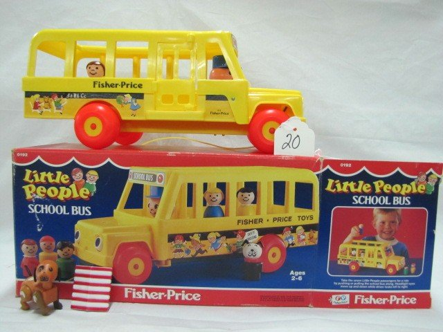20: Fisher Price - Little People's School Bus