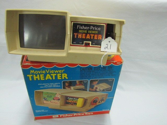 21: Fisher Price - Movie Viewer Theater