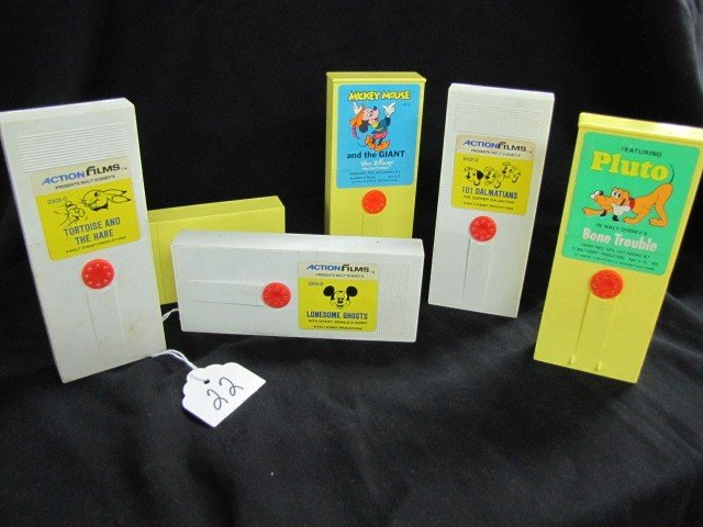 22: Fisher Price - Movie Viewer cartridges 6