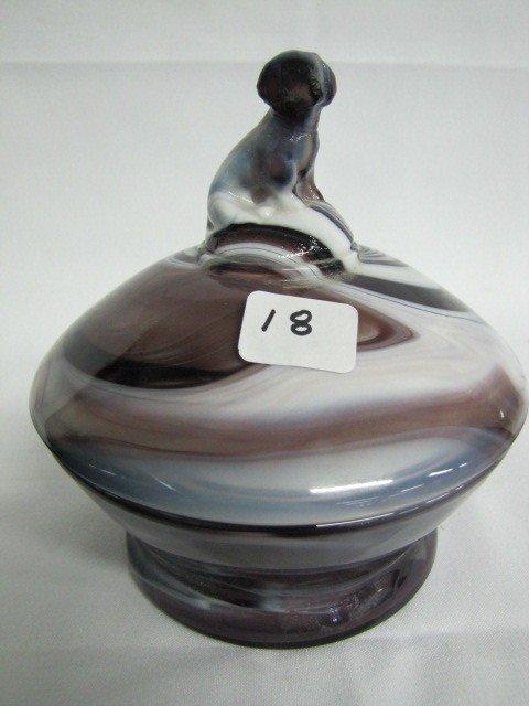 18: Slag Glass- See photo for description
