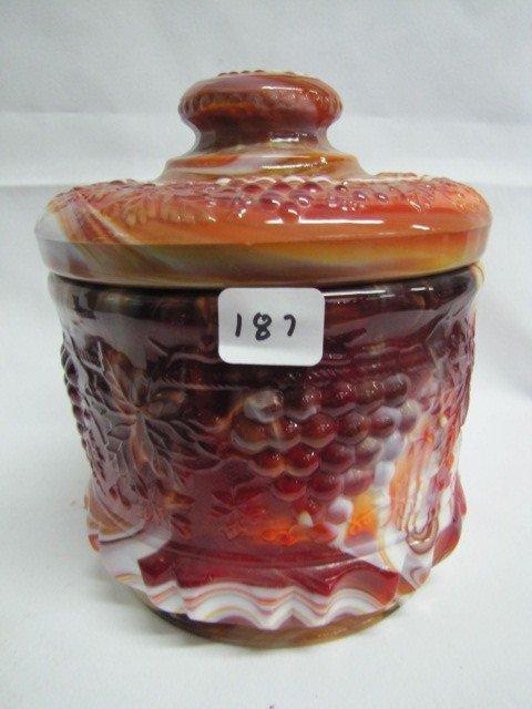 187: Slag Glass- See photo for description