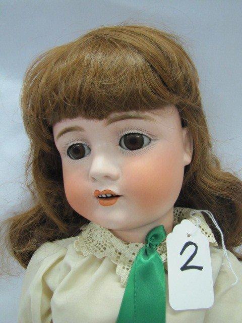 """2: 29"""" KH Walrure Germany 4 teeth brown eyes porcelain"""