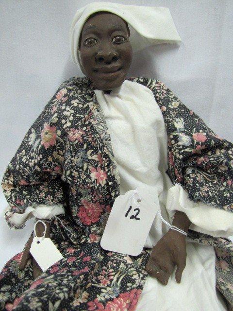 """12: 25"""" week 8 *@1990 Ethnic doll"""
