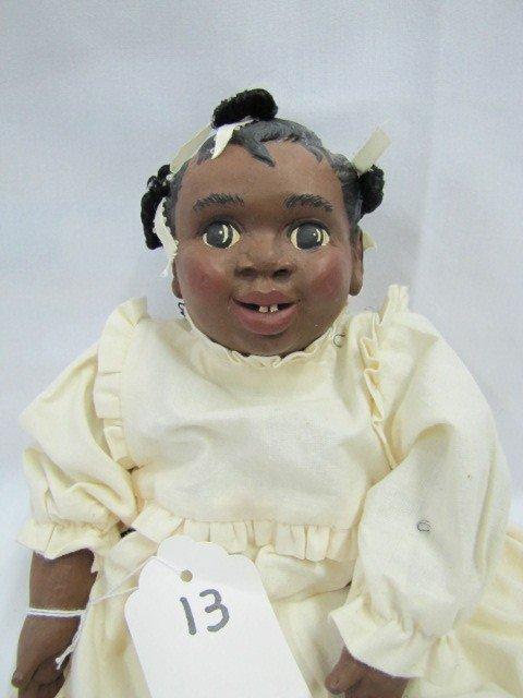 "13: 13"" Jennings 1990 Ethnic doll"