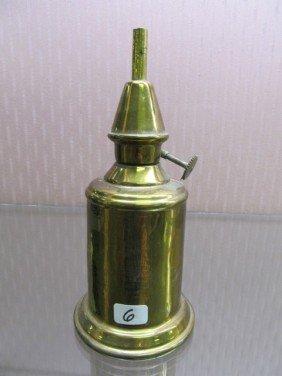 6: Brass mini Pigeon Lamp . NIce English Lamp.
