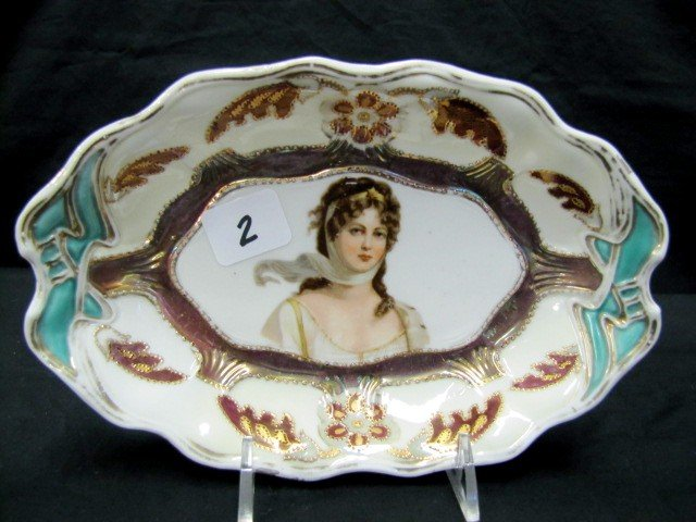 """2: OS Germany 9"""" Queen Louise relish dish"""