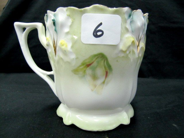 6: RSP Iris mold floral hsaving mug